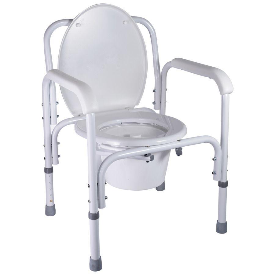Стул-туалет стальной B8500CA NOVA стул туалетный, горшок для взрослых, больных