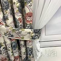 Шифоновая занавеска для дома спальни зала, занавеска для кухни спальни детской с атласом, качественная, фото 6