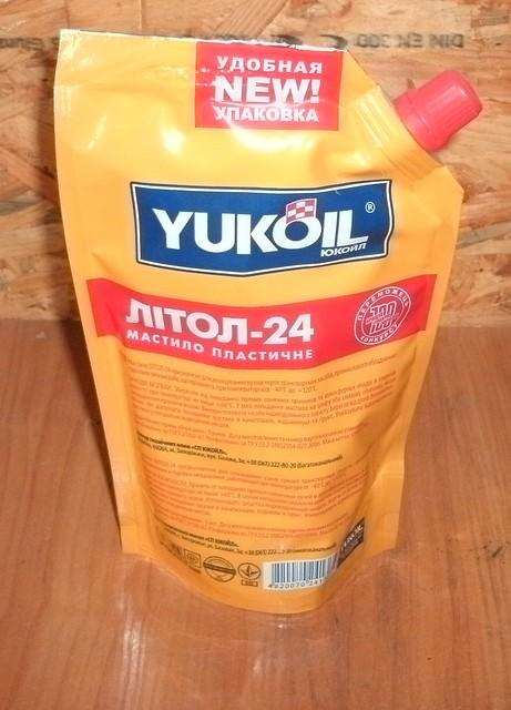 Литол-24 YUKOIL (0,375 кг)