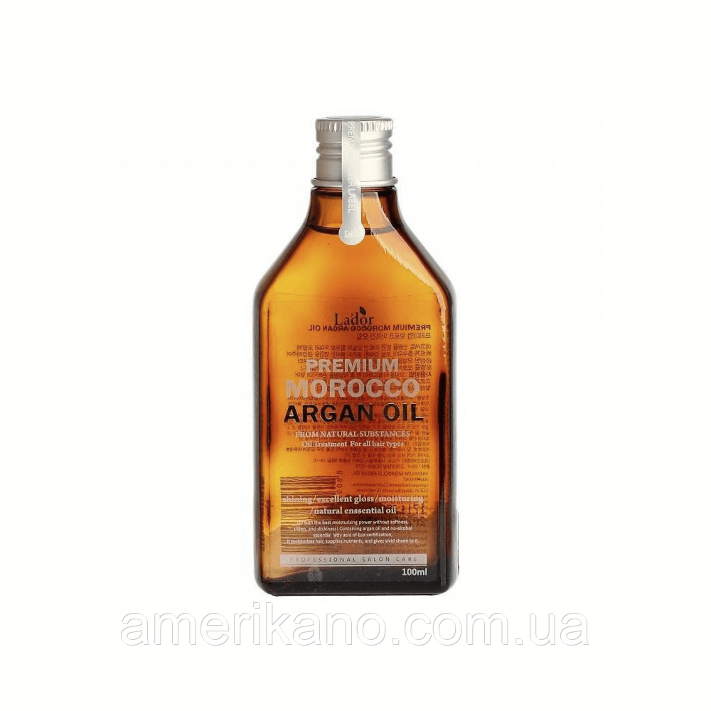 Арганова олія для волосся LA'DOR Premium Morocco Argan Oil, 100 мл