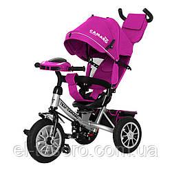 Велосипед трехколесный TILLY Camaro T-362 Фиолетовый