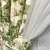Короткая занавеска для дома спальни кухни, шифоновая занавеска для зала спальни детской кухни, занавеска в, фото 2