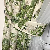 Короткая занавеска для дома спальни кухни, шифоновая занавеска для зала спальни детской кухни, занавеска в, фото 3