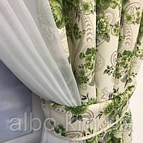 Короткая занавеска для дома спальни кухни, шифоновая занавеска для зала спальни детской кухни, занавеска в, фото 4