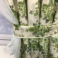 Короткая занавеска для дома спальни кухни, шифоновая занавеска для зала спальни детской кухни, занавеска в, фото 10