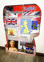 English discover Britain  60 х 80 см