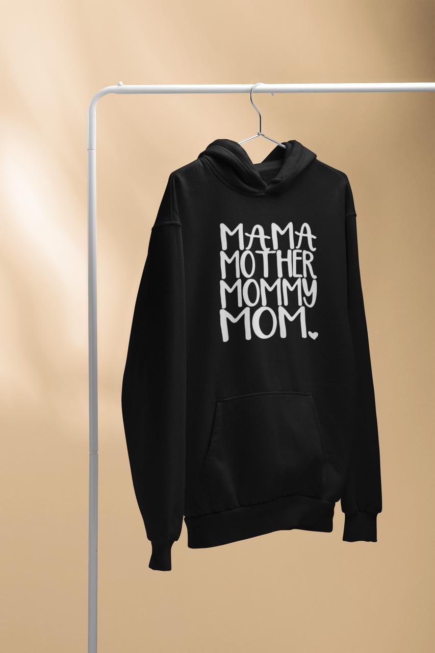 """Худі з принтом написом / толстовка з написом """"Мама"""""""
