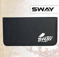 Чохол SWAY STYLIST для 2 ножиців + аксесуарів з кишенею і на блискавці (110 999 006)