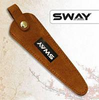 Чохол SWAY для 1 ножиць замшевий рудий (110 999 007)