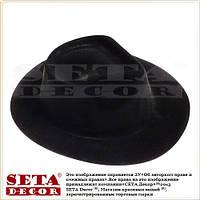 Черная гангстерская шляпа (бюджетная)