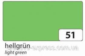 Фетр150g/m², 20x30cm, 10 лист №51 hellgrün