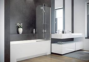 Шторки для ванн Besco PMD Ambition - 1 з смужками 75x130