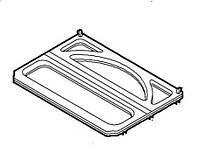 Крышка-полка багажного отсека (ляда) Fiat Doblo