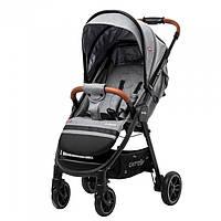 Детская прогулочная коляска CARRELLO Eclipse CRL-12001 Mosaic Grey в льне + дождевик