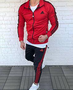 Мужской спортивный костюм Adidas Red