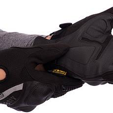 Тактичні військові чоловічі рукавички з посиленим протектором MECHANIX MPACT BC-4923 M Чорний, фото 2