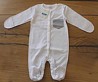 Трикотажные человечки для новорожденных / Трикотажні чоловічки для новонароджених