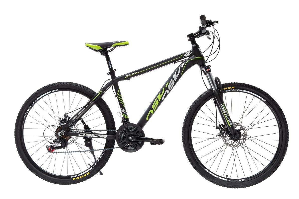 """Велосипед Oskar 26"""" SW-001черно-зелений (26-1814-bg)"""