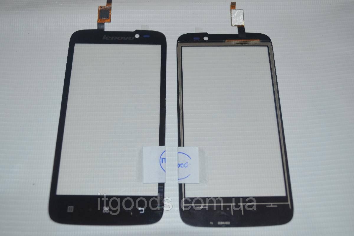 Тачскрин / сенсор (сенсорное стекло) для Lenovo A516 (черный цвет) + СКОТЧ В ПОДАРОК