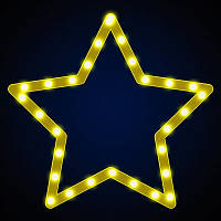 Светодиодная фигура звезда LUMIERE 0.29*0.27 м