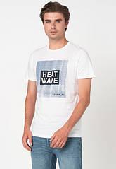 Футболка Jack & Jones 12173035 XL White Heat Wave