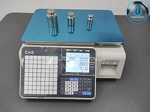 Весы с печатью этикетки на 30 кг CL3500B CAS
