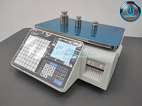 Весы с печатью этикетки до 15 кг – CL3500-B  CAS