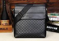 Мужская кожаная сумка Polo в стиле casual. Модель 0445, фото 6