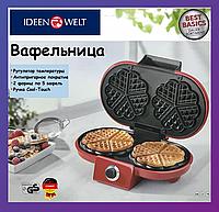 Электровафельница двойная Ideen Welt KS-510 Германия