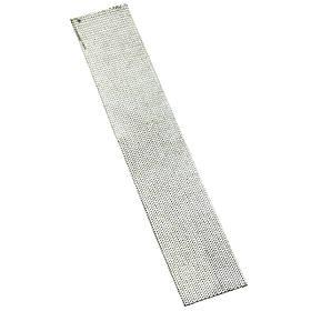 Сито для зернодробилки, крупорушки диаметр 1 мм (320х60 мм)