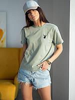 Стильная базовая футболка с рукавом со спущенной проймой и на манжете по низу