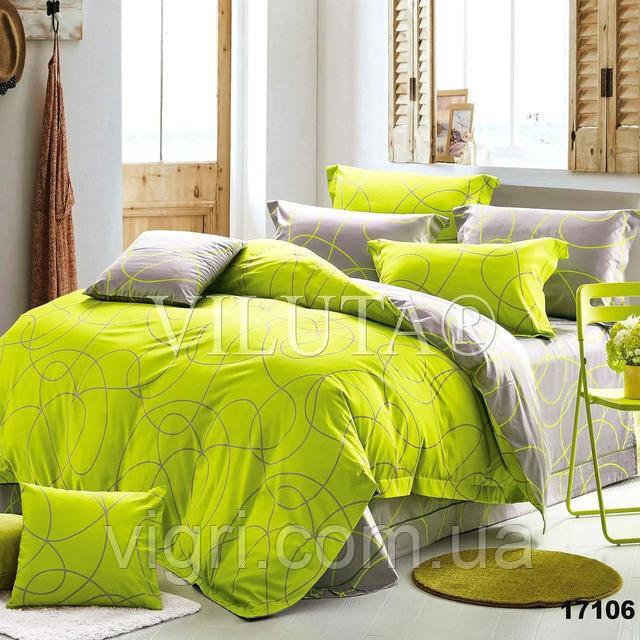 Постельное белье, двухспальное, ранфорс Вилюта «VILUTA» VР 17106