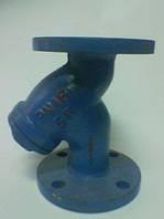 Фильтр осадочный чугунный фланцевый, CSF-16, Ду 80