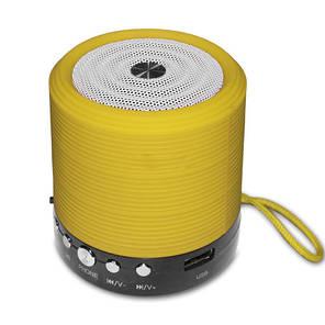 Портативна Bluetooth колонка WSTER WS-631 Yellow, фото 2