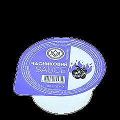 """Соус-стакан """"Чесночный"""" 55 г (1ящ/30шт)"""