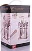 Набор столовых приборов на 6 персон из нержавеющей стали 24 предмета Zepter ZP-033, фото 7
