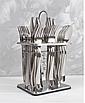 Набор столовых приборов на 6 персон из нержавеющей стали 24 предмета Zepter ZP-033, фото 3