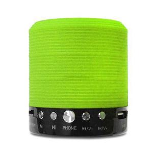 Портативная Bluetooth колонка WSTER WS-631 Green, фото 2