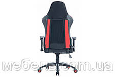 Кресло для врача Barsky SDM-03 Sportdrive Massage, черный / красный, фото 2