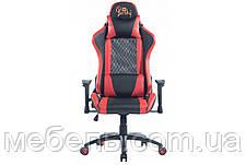 Кресло для врача Barsky SDM-03 Sportdrive Massage, черный / красный, фото 3