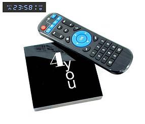 Смарт ТВ приставка Smart TV 4you GALAXY 4 / 32Gb (Allwinner H616, Android 10, 6K)