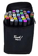 Набір скетч-маркерів двосторонніх 36 шт. для малювання, Touch