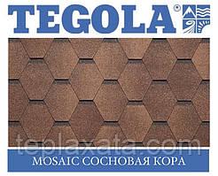 Черепиця TEGOLA (Super) Mosaic Соснова кора