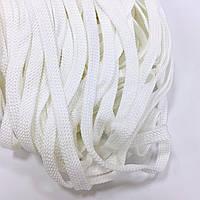 Шнур для одежды без наполнителя 8мм цв белый (уп 100м) Ф