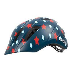 Шлем велосипедный детский Bobike Plus / Navy Stars / S (52/56)