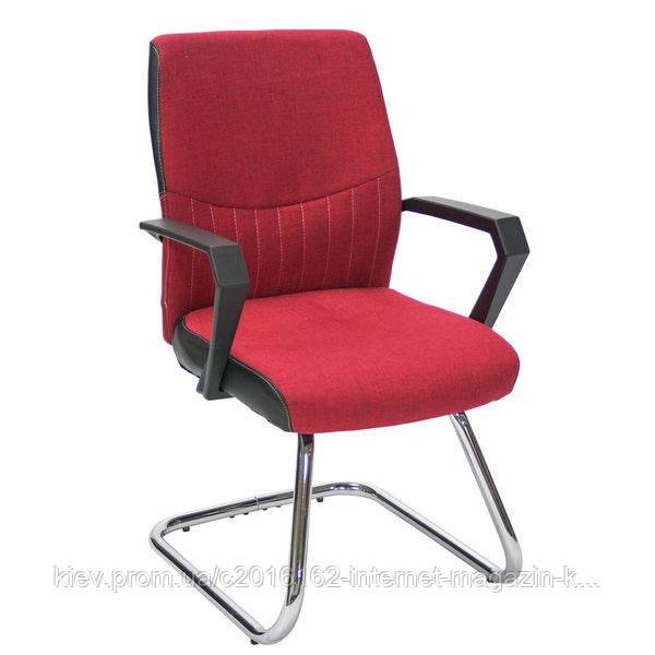 Кресло на полозьях Office4You ANGELO красное