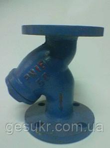 Фильтр осадочный чугунный фланцевый, CSF-16, Ду 65