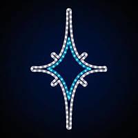 Светодиодная фигура звезда LUMIERE 0.55*0.9 м