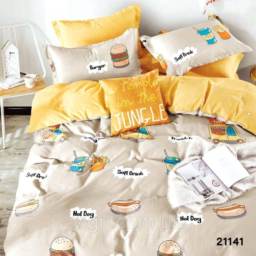 Постельное белье, двухспальное, ранфорс Вилюта «VILUTA» VР 21141