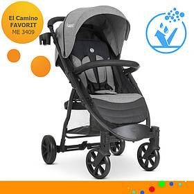 Детская прогулочная коляска El Camino Favorit M 3409 Medium Gray Серый